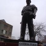 4-23-14 Sandburg Statue