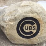 2015-Lacky Monument-Chicago Cubs Engraved Boulder